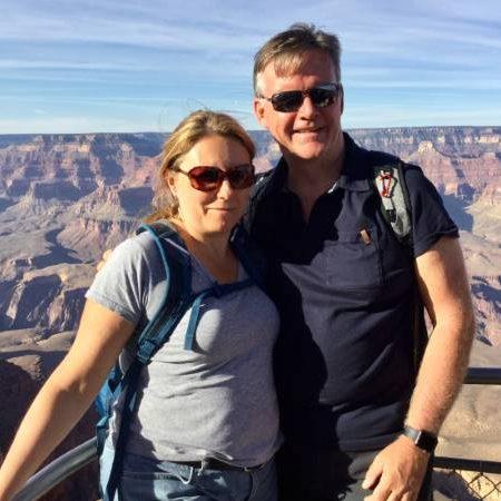 Catherine and Liam in Arizona